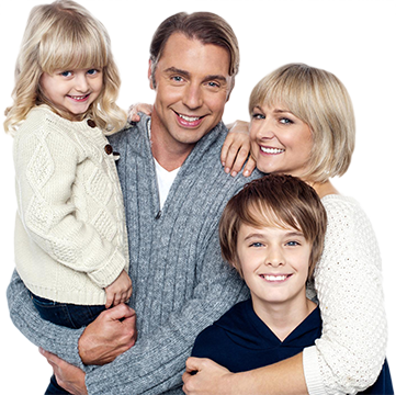 Happy Family Photo | Dentist Thornton