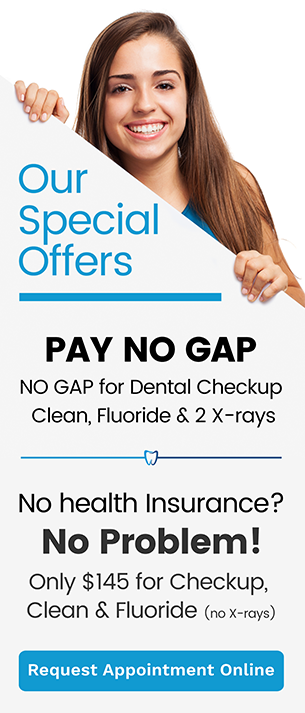 Our Specials Offers Banner | Dentist Thornton