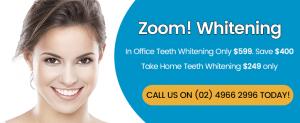Zoom Whitening Banner Dentist Thornton